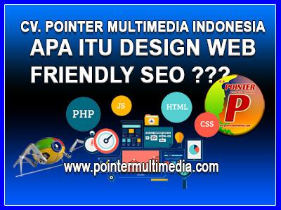 apa itu design web friendly seo